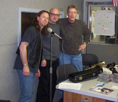 pic12doing a radio show with pender and steve thomas