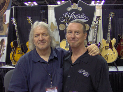 pic55at namm2005 with seymour duncan